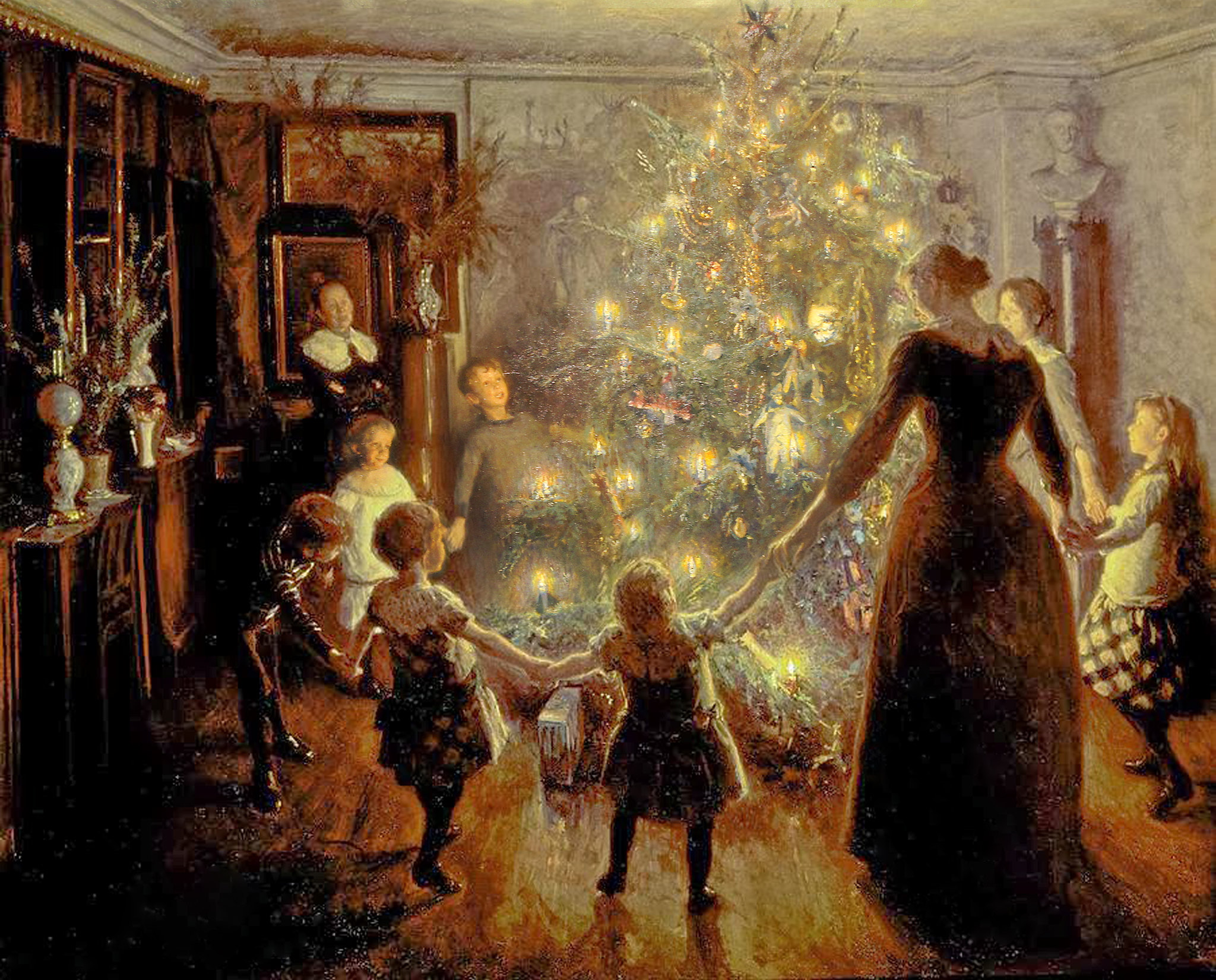 "Viggo Johansen ""Silent Night"" 1891"