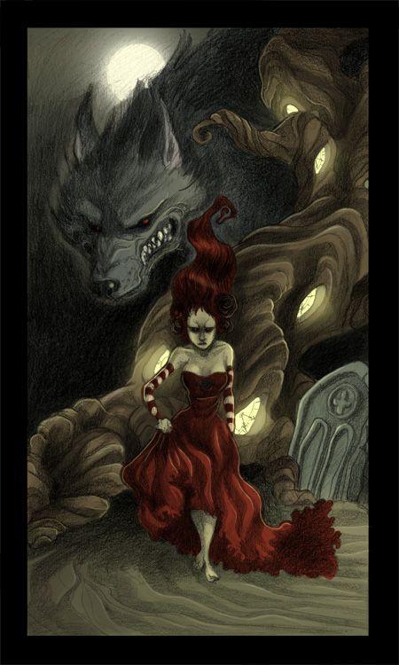 Big Bad Wolf... by kyla79.deviantart.com on @deviantART